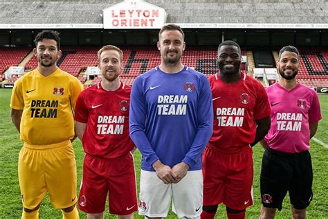 Get a first look at Leyton Orient's new Dream Team