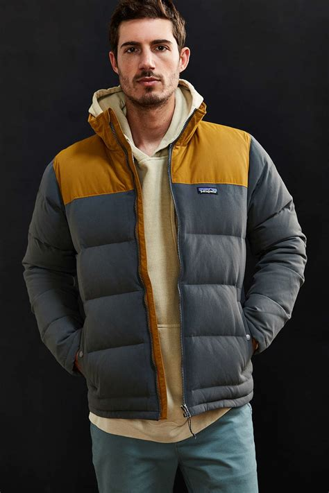 Patagonia Bivy Down Jacket in Gray for Men | Lyst