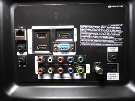 Signal and Connector Types for TV and HDTV | Audioholics