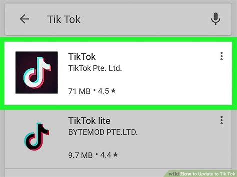 How to Update to Tik Tok: 10 Steps (with Pictures) - wikiHow