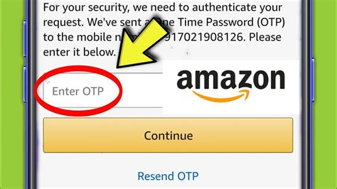 Amazon OTP not Received || Verification code &