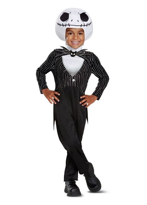 Jack Skellington Classic Toddler Costume - Cosplay Costumes