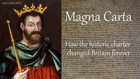 Magna Carta: How historic charter changed Britain forever
