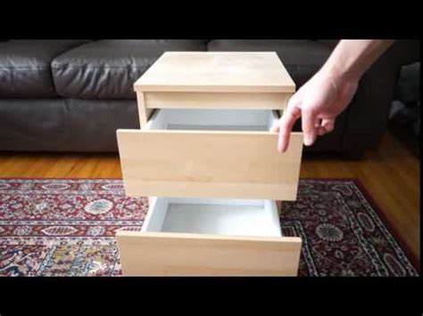 Ikea KULLEN 2 Drawer Chest Close-up - YouTube