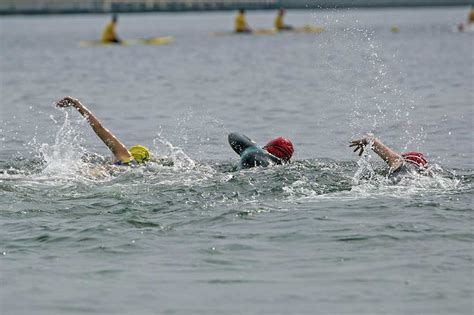 Manitoulin Island's first competitive open water swim
