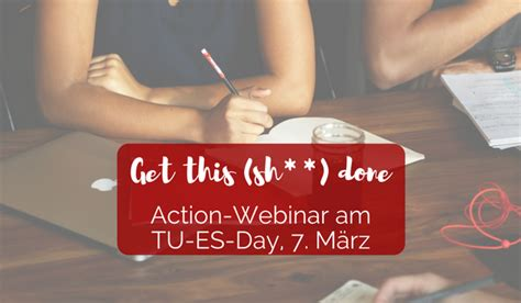 Get this (sh-) done - Herzcoaching