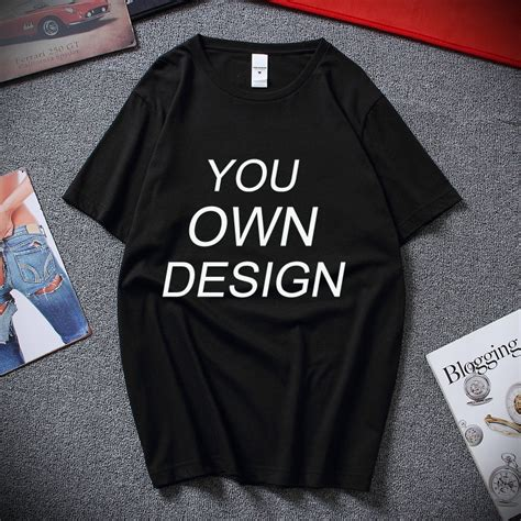 2018 Your OWN Design Brand Logo/Picture Custom Men and