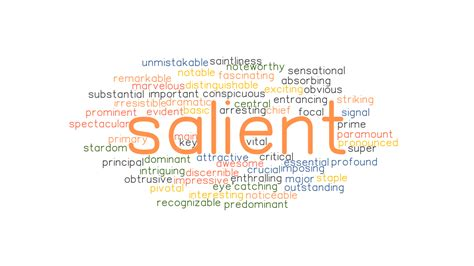 SALIENT: Synonyms and Related Words