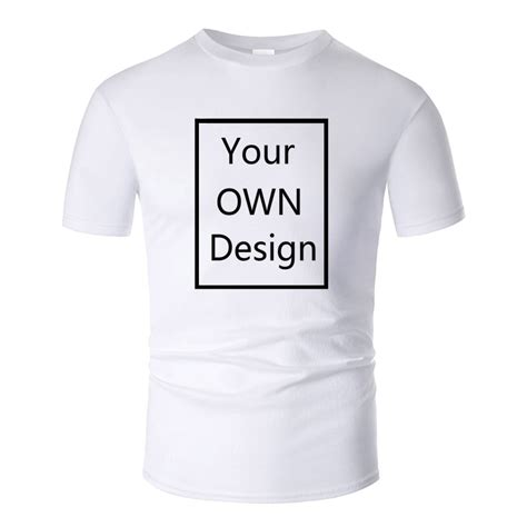 Your OWN Design Brand Logo/Picture Custom Men and women