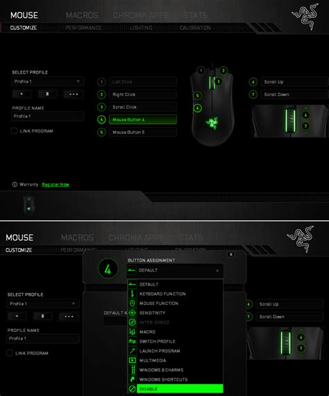 Razer Insider | Forum - How to stop mouse button 4/5 from