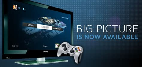 News - Steam Big Picture Available Now