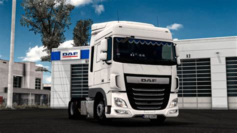 ETS2 - Daf XF 106 with Curtains (1