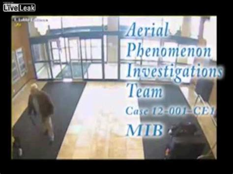 Real life men in black enter hotel asking questions after