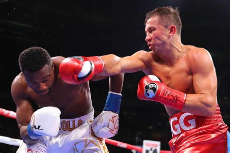 Golovkin stops Rolls in the fourth-round - FIGHTMAG
