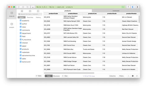 TablePlus SQLite Browser - The best SQLite DB Manager on