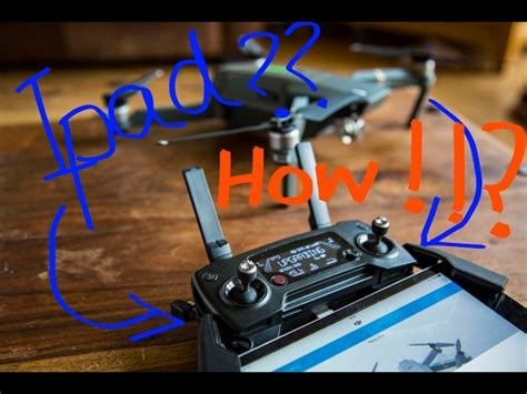 How to Fit iPAD Mini on a DJI Mavic Controller with a