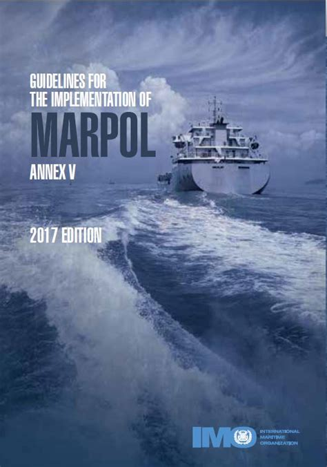 IMO Guidelines for the Implementation of MARPOL Annex V