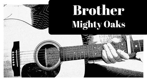 Mighty Oaks - Brother (Acoustic Lesson)+ Chords - YouTube