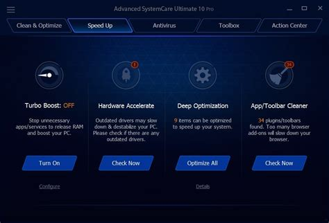 Download Advanced Systemcare Ultimate 10