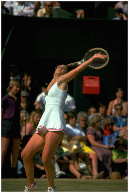 At the 1975 Wimbledon | Chrissie for