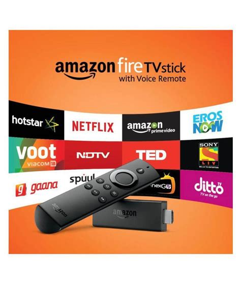 Buy Amazon Fire TV Stick with Voice Remote Compatible with