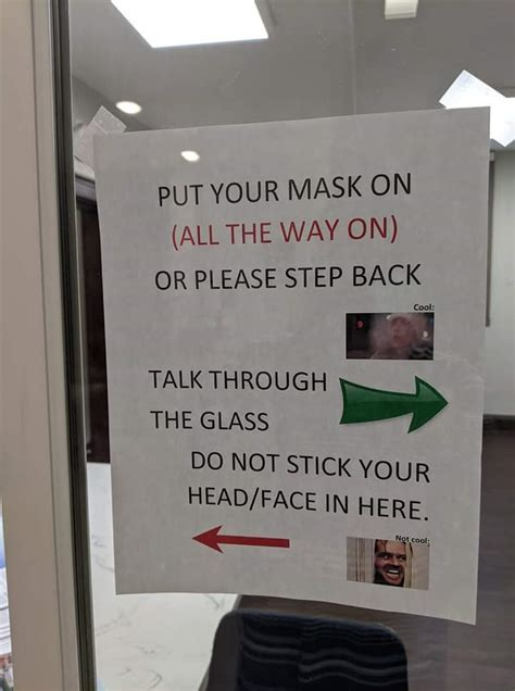 """20 Funny Mask Signs Even A """"Karen"""" Would Laugh At"""