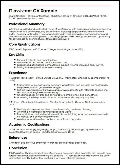 Can I have a sample of a standard CV format? - Quora