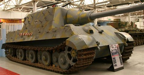 Jagdtiger exterior | One of only three surviving examples