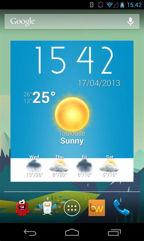 Beautiful Widgets Free for Android - Free download and