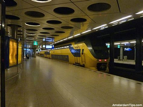 Schiphol Airport to Amsterdam Central by Train, Bus