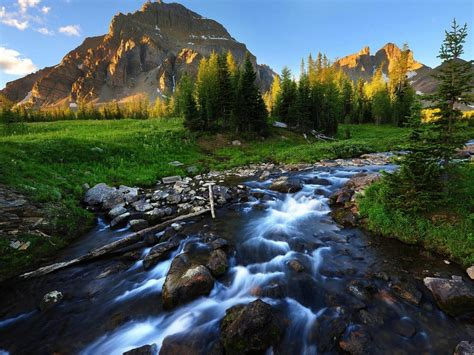 River Stream Background Wallpaper 03735 : Wallpapers13