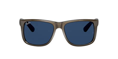 Ray-Ban RB4165 JUSTIN COLOR MIX 54 Blue & Brown Sunglasses