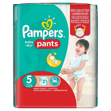 Pampers Baby Dry Pants Size 5 - 21 Pack