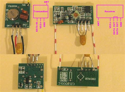 PIC project, using cheap RF modules!