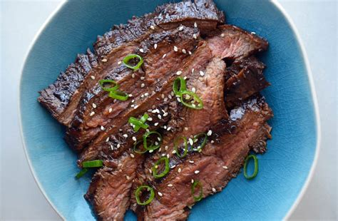 Just a Taste | The Ultimate Asian Flank Steak Marinade