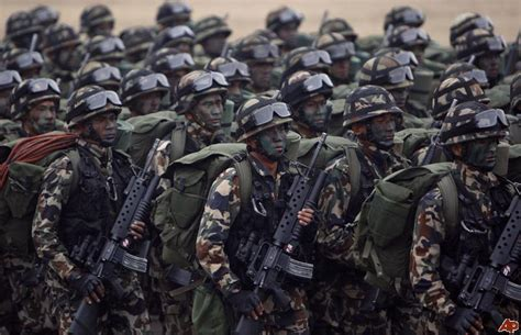 World Military and Police Forces: Nepal