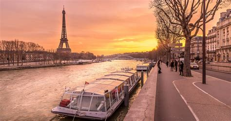 Paris, France: Why Down By The Beautiful River La Seine Is