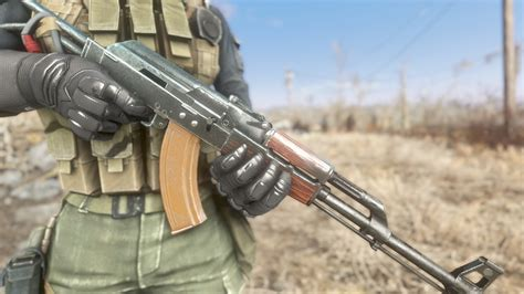 New Textures For Handmade Rifle (Nuka World AK) at Fallout