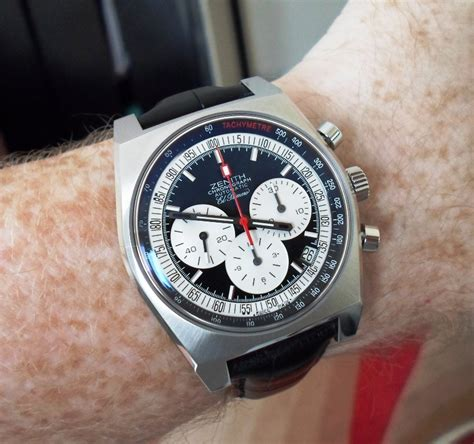 Zenith New Vintage 1969 - Pics and some dial variations