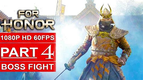FOR HONOR Gameplay Walkthrough Part 4 Campaign [1080p HD