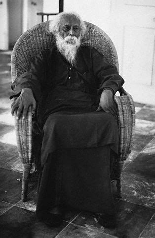 The Indian poet and philosopher Rabindranath Tagore ca