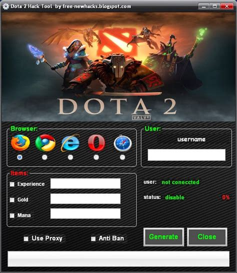 Dota 2 Hack Unlimited Gold Download files Best Tools for