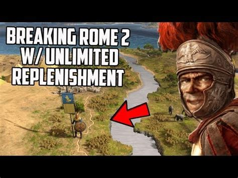 Breaking Total War Rome 2 By Making An Army That Can t Die
