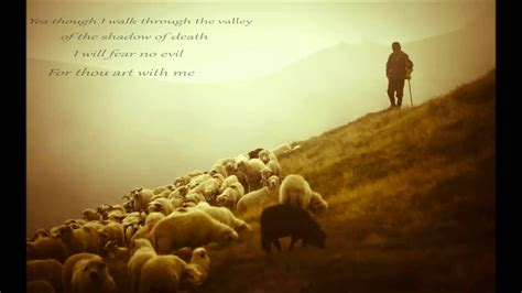 Psalm 23 The Lord Is My Shepherd Billy Gilman - YouTube